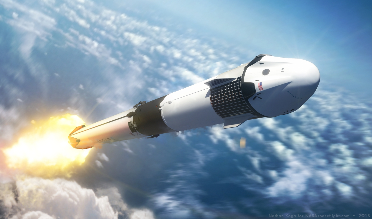 SpaceX Takes Giant Leap For Private Space Travel